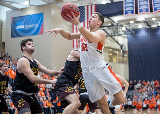 Lansing Christian graduate Preston Granger was a first team All-MIAA selection this season for Hope College.