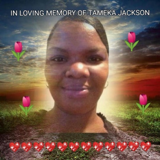 Tameka Jackson was killed Friday, March 13, 2020 in a double shooting in Lansing.