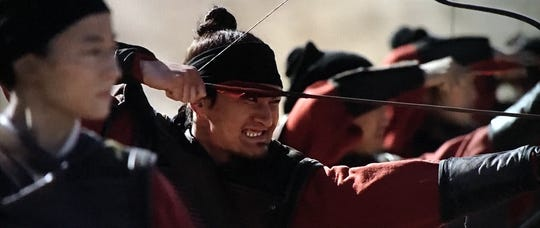 """Memphis actor Chen Tang is a warrior of ancient China in the new live-action Disney version of """"Mulan."""""""