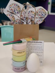 "With Easter right around the corner, Just Kiln' Time ""Paint Your Own Pottery"" in Menomonee Falls is selling a ""Duck Egg Kit"" ($10)."