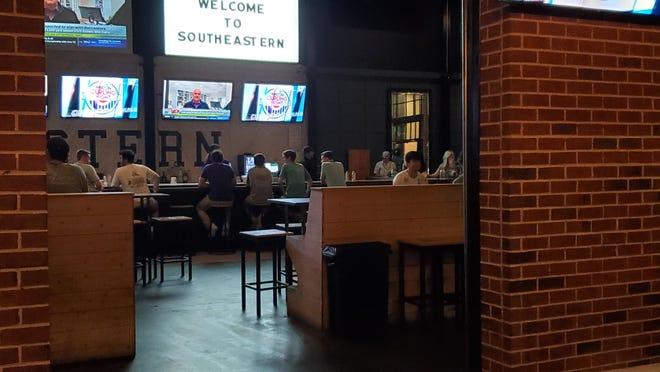 Southeastern in downtown Auburn on March 17, 2020.