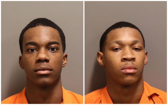 Demetrice Landon and Jalen Spooney were each charged with first-degree robbery.
