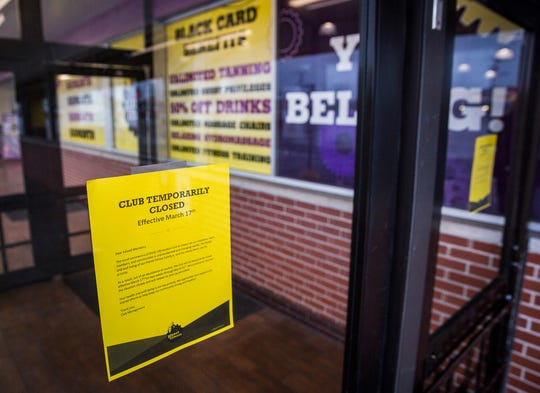 Planet Fitness on McGalliard Road announced it would close temporarily to prevent the spread of coronavirus.