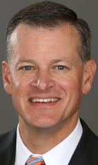 Florida director of athletics Scott Stricklin