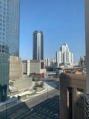 Shanghai streets on January 31 -- empty