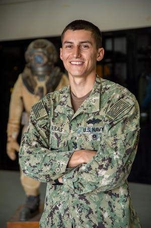 Petty Officer 2nd Class Adam Porras