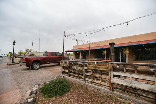 Chala's Wood Fire Grill is pictured in Mesilla on Wednesday, March 18, 2020.