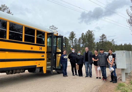 Ruidoso school district's meal delivery program will continue until schools re-open.