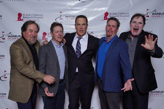 Actors Richard Karn, Kevin Rahm, Patrick Warburton, Kevin Dillon and Richard Kind ham it up on the red carpet at the 2020 Warburton.