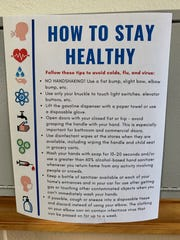 The Joslyn Center offers tips to help clients stay healthy.