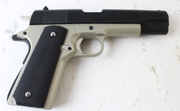 Replica 1911 model airsoft gun recovered by Chandler police officers on March 13, 2020.