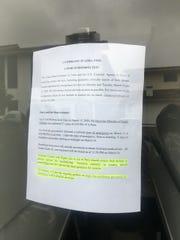 Picture of the sign outside the U.S. Consulate in Cusco, Peru.