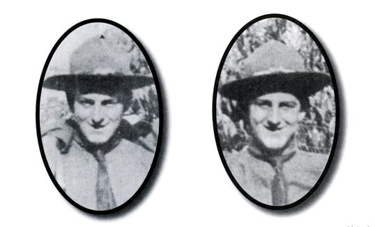 A single shell killed York County brothers John Daniel Withers, left, and Harry William Withers in fighting in Europe in World War I.