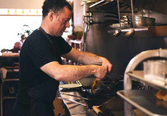 Tim Magee, chef-owner of Calafuria in Midtown Reno, said offering a special curbside takeout menu during the closure was the only way for his restaurant to survive.