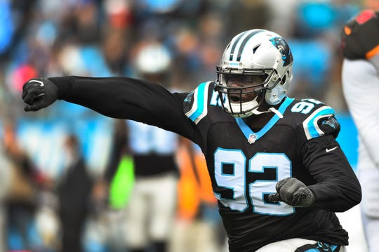 Carolina Panthers defensive tackle Vernon Butler is expected to sign with the Buffalo Bills Wednesday.