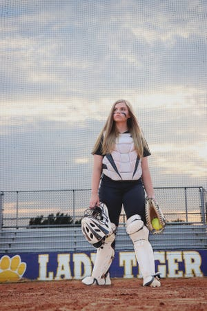 Benton's Olivia Oliphint is hoping she has a chance to complete her senior softball season.