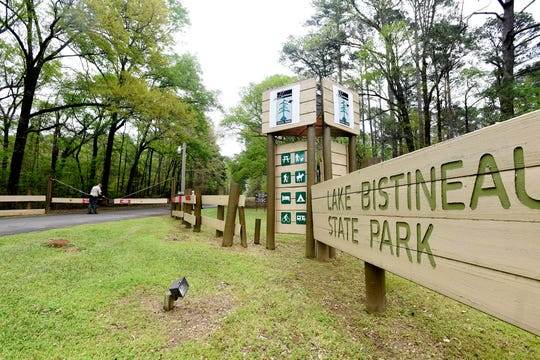 Lake Bistineau State Park is going to be used as a regional staging area for the coronavirus COVID-19 outbreak in the state. The park is now closed to the public.