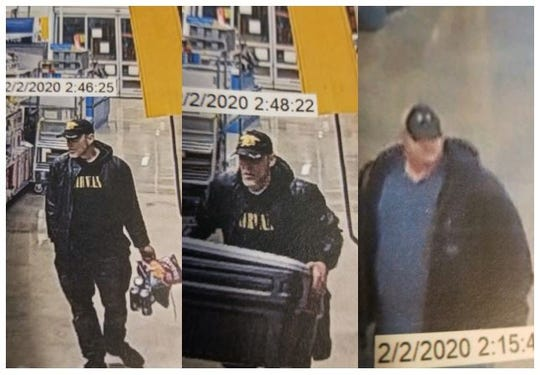 Shreveport police are asking for help in identifying suspects of a theft reported at Walmart, located in the 1600 block of East Bert Kouns, on Feb. 2.