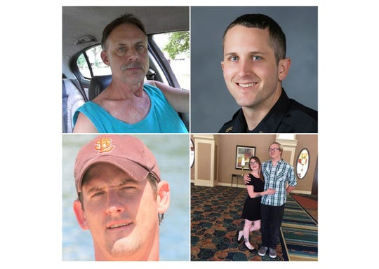 The deceased victims of Sunday night's shooting at a Springfield Kum & Go store.