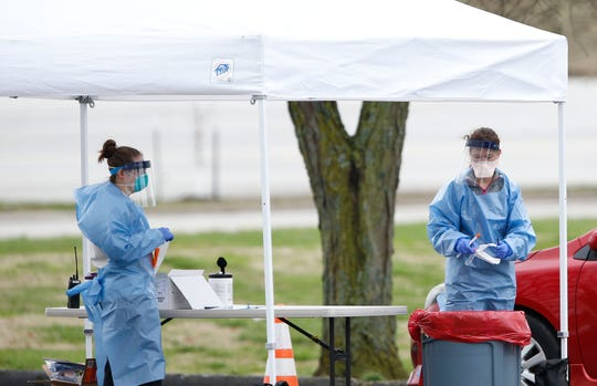 The Springfield-Greene County Health Department is running a mobile testing site for those who need to be tested for the coronavirus. Only people with a referral from a doctor will be tested for the virus.