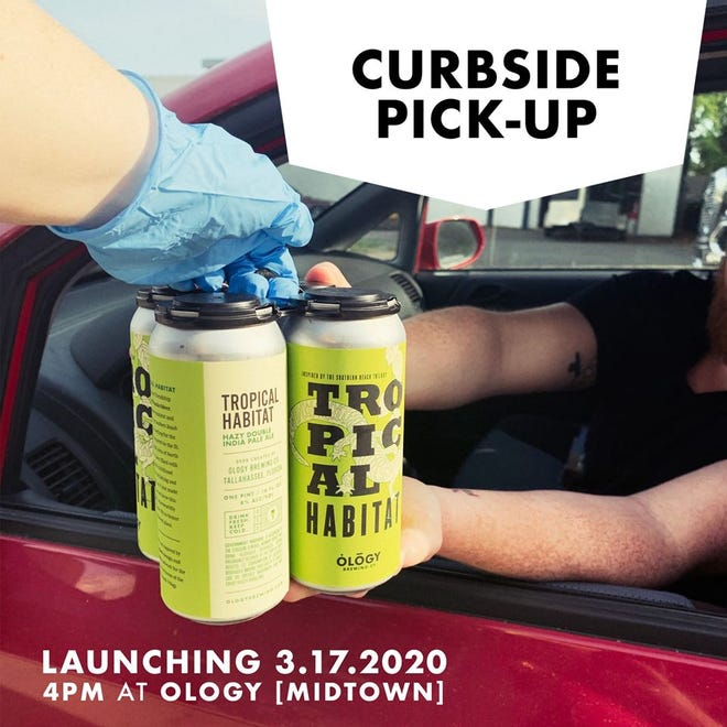 Ology launched curbside pick-up in Midtown on Tuesday.