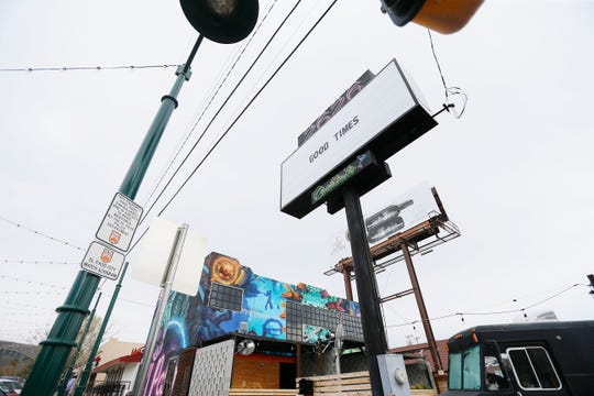 Bars on Cincinnati street Tuesday, March 17, in El Paso. All bars, arcades and clubs were ordered to close and an emergency declaration was extended Tuesday by El Paso City Council to fight the spread of coronavirus.