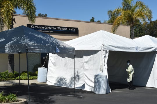 Clinics and health care sites across Ventura County have conducted drive-through screening for COVID-19.