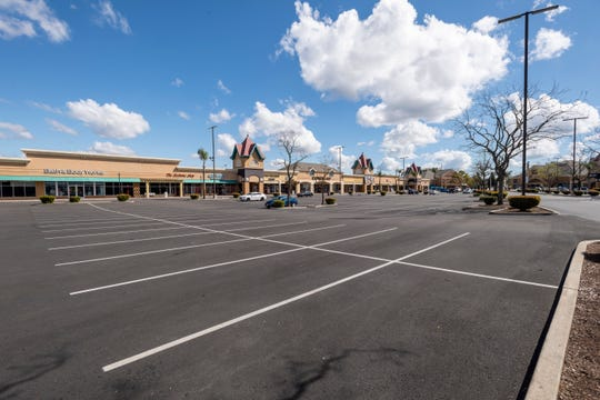 About one-fourth of the stores at Tulare Outlets were closed on Tuesday, March 17, 2020. The shopping center is now closed until March 30. It had previously reduced its hours.
