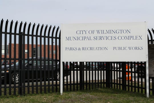 Sanitation workers for Wilmington report to work at the city's Municipal Services Complex in Southbridge