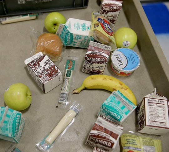 School lunch file photo