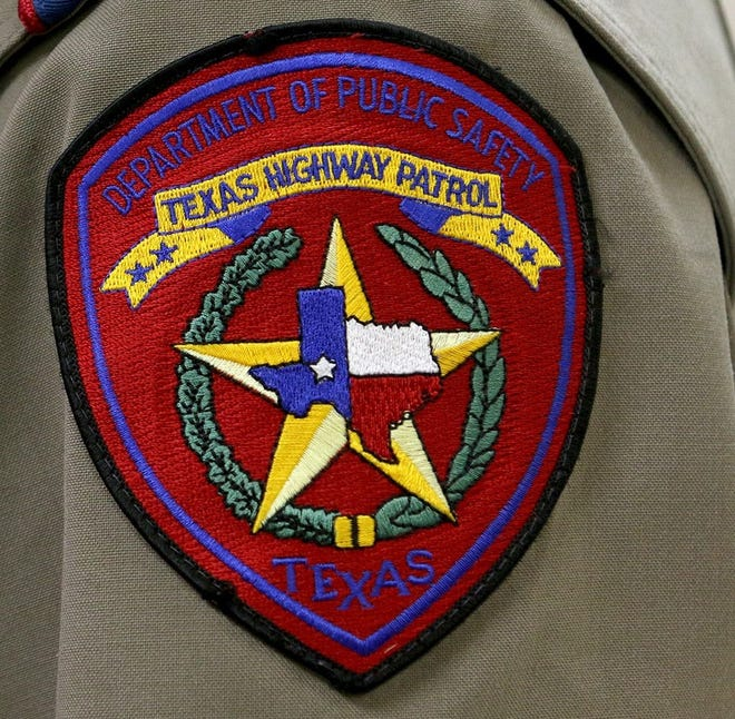 Texas Department of Public Safety trooper's patch
