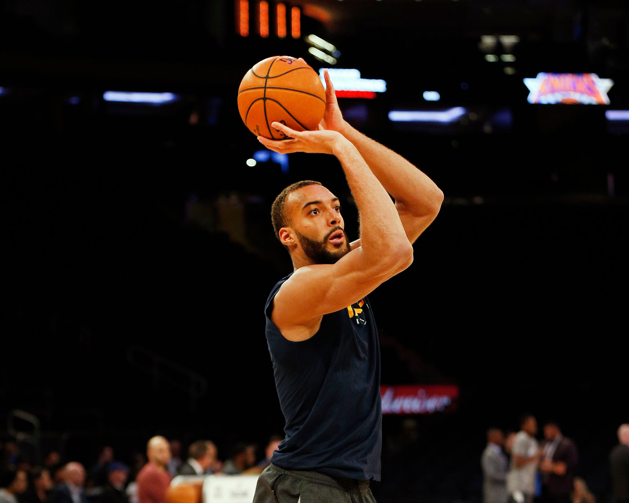 Utah Jazz center Rudy Gobert was the first Jazz player to test positive for the coronavirus. His teammates and recent opponents were also tested for the virus following his positive test.