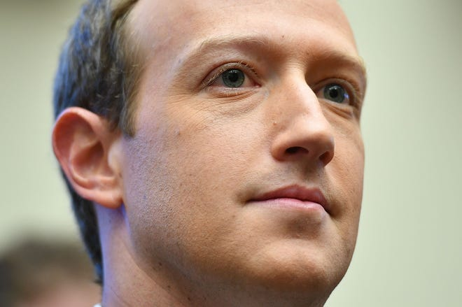 """""""The top priority and focus for us has been making sure people can get access to good authoritative information from trusted health sources,"""" Facebook CEO Mark Zuckerberg said."""