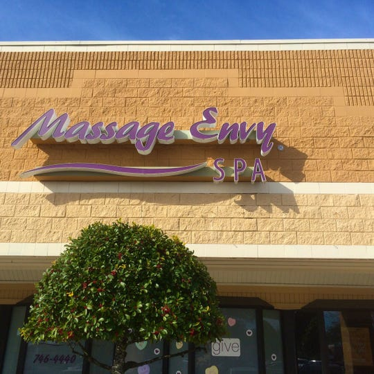 Massage Envy Spa remains open in Asheville as of March 18.