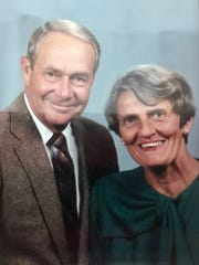 Eugene and Dorothy Campbell are seen in this undated portrait provided by their family.