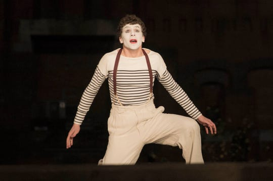 """Jesse Eisenberg stars as Marcel Marceau, famed French mine and freedom fighter, in the World War II drama """"Resistance."""""""