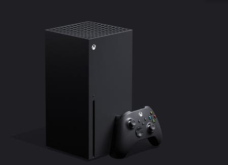 Microsoft's next video game console, the Xbox Series X. Due out in holiday 2020.