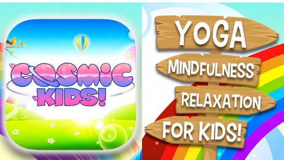 Cosmic Kids Yoga offers free daily classes.