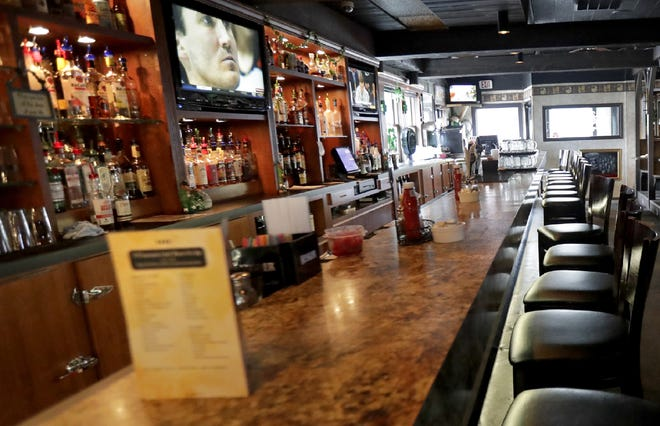 Customers were prohibited from being inside Wisconsin's restaurants and bars starting Tuesday at 5 p.m.