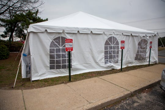Healthcare providers in Lakewood, like Chai Urgent Care have installed tents outside their main buildings to treat and test people with coronavirus symptoms.