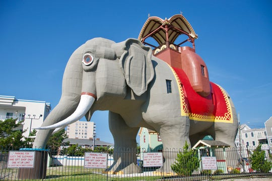 Lucy the Elephant in Margate City is a must-see retro New Jersey destination.