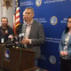 Congressman Anthony Brindisi held a press conference in Dickinson Monday with Broome County Executive Jason Garnar and Public Health Director Rebecca Kaufman. Brindisi is now under quarantine as he was with Uth Rep. McAdams last week, who tested positive for COVID-19.