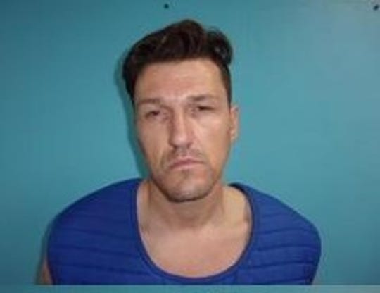Aransas County Detention Center mug shot of Mark Malone