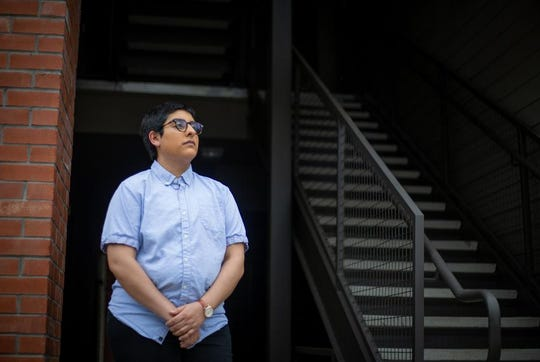 Because of concerns over COVID-19, Julien Gomez wanted to move to online therapy sessions.
