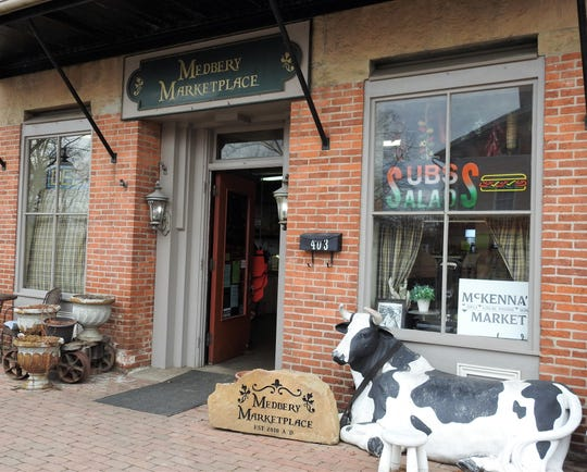 Medbery Marketplace in Roscoe Village has ended dine-in, but is still doing sandwiches to go from their deli and selling other items. That part of the business has been brisk the past week.