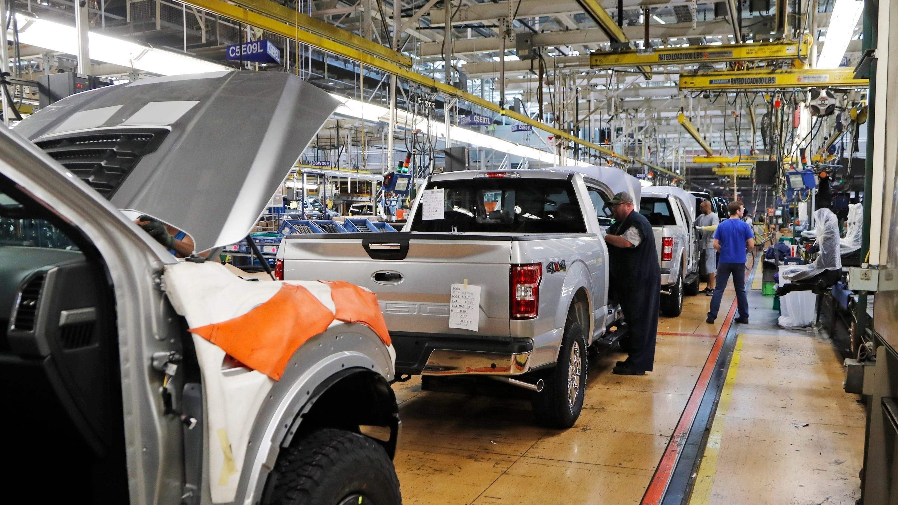 Two Ford plants missing from list for reopening week of May 18