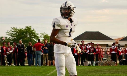 East Lansing receiver Andrel Anthony owns 22 scholarship offers so far.