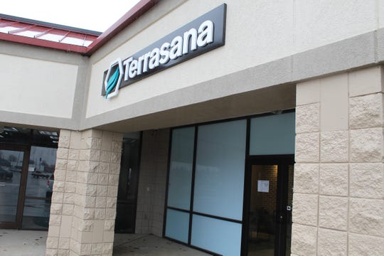Terrasana's medical marijuana dispensary  on East State Street in Fremont is taking precautions to deal with concerns generated by coronavirus.
