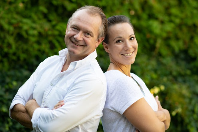Karin Dopplinger, right and her husband, Ingo, live and work in Vienna, Austria. They own a home in Cape Coral and visit often.  The Dopplingers are confronting the coronavirus with their family and trying to stay positive.