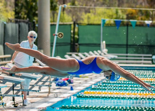 FGCU junior Petra Halmai is one of many athletes from Europe. Halmai is unable to return to Hungary and is stranded at Florida Gulf Coast due to the coronavirus pandemic.